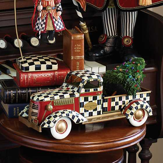 Mackenzie Childs Courtly Check Truck