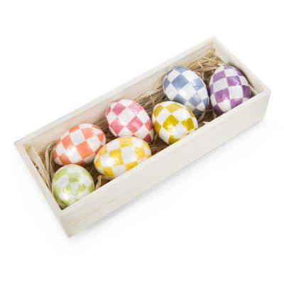Pastel Eggs - Set of 7