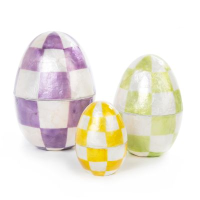 Pastel Nesting Eggs - Set of 3