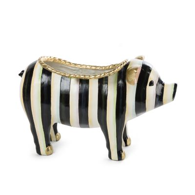 Courtly Stripe Pig