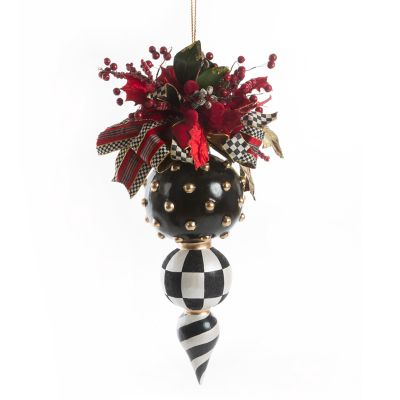 Deck the Halls Triple Ornament - Jumbo