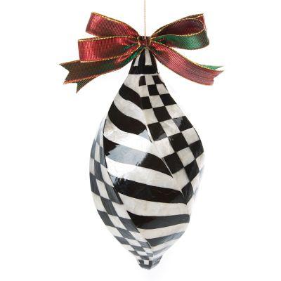 Capiz Ornament - Jumbo Swirl