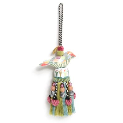 Ceramic Bird Tassel - Harlequin