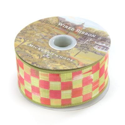 "Tulip Check 2"" Ribbon"