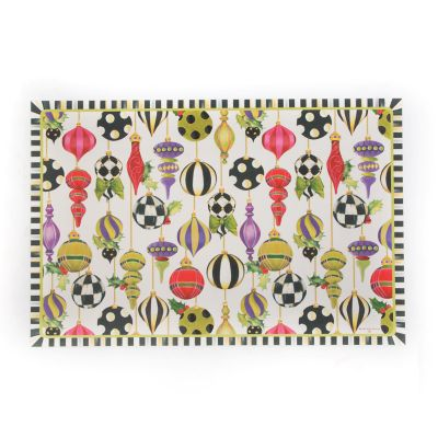 Deck the Halls Floor Mat - 2' x 3'