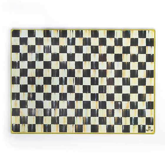Mackenzie Childs Courtly Check Cutting Board