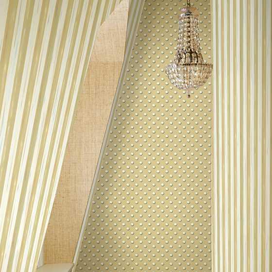 Mackenzie Childs Parchment Stripe Wallpaper
