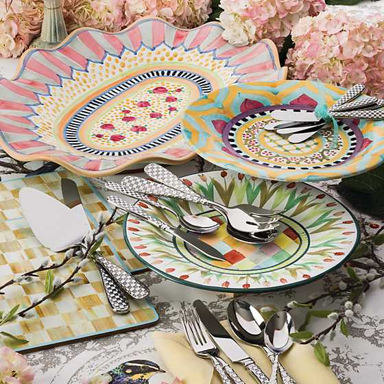 Check Flatware - 5-Piece Place Setting