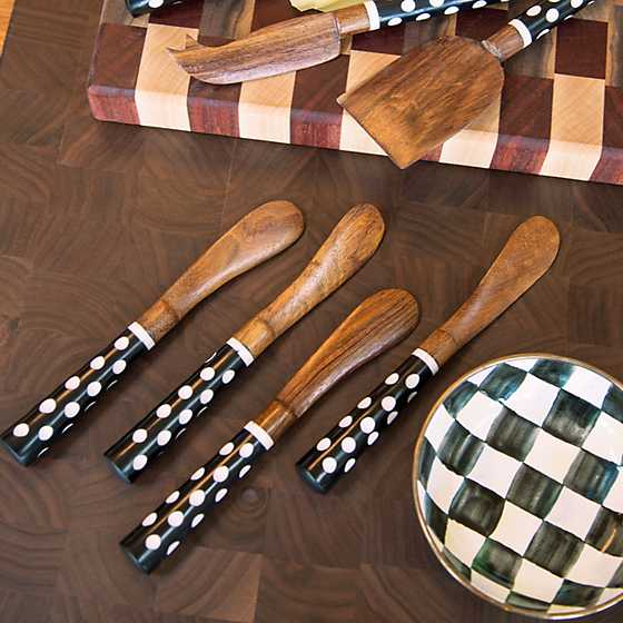 Dotty Canape Knives - Set of 4