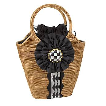 Courtly Check Bucket Bag