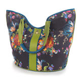 Flower Market Large Tote - Black