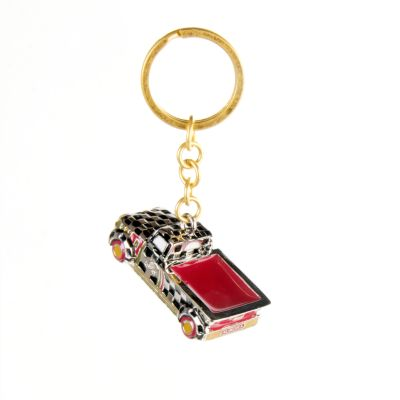 Farm Truck Key Ring