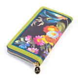 Flower Market Wallet - Black