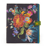 Flower Market Tablet Cover - Black