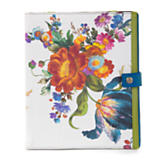 Flower Market Tablet Cover - White
