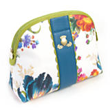 Flower Market Cosmetic Case - White