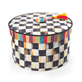 Courtly Check Hat Box - Small