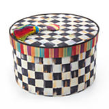 Courtly Check Hat Box - Medium