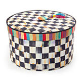 Courtly Check Hat Box - Large