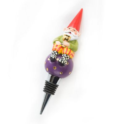 Home Sweet Gnome Bottle Stopper