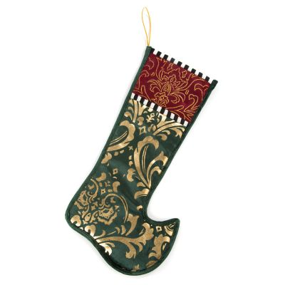 Yuletide Manor Stocking - Small