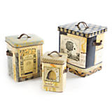 Bee Skep Tin Boxes - Set of 3
