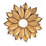 Gold Dahlia Mirror