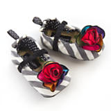 Kaleidoscope Infant Slippers - 6-12 months