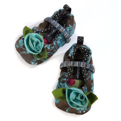 Blue Rose Bebe Infant Slippers - 6-12 months