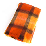 Mohair Throw - Epices Orange/Gold/Black