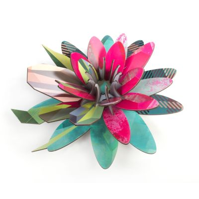 Aurora Borealis Wall Flower