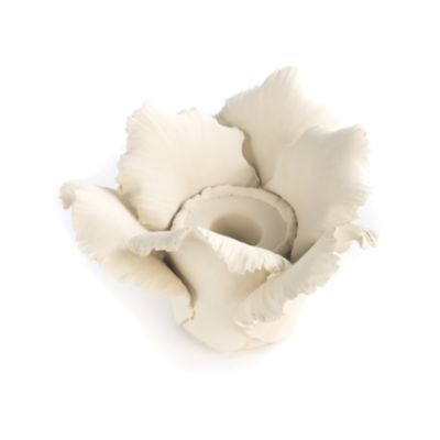 Daffodil Tea Light Holder - Ivory