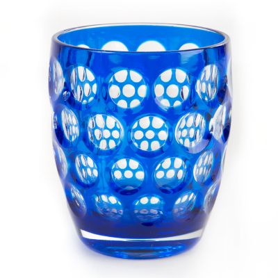 Lente Glass Tumbler - Blue