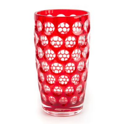Lente Highball Glass - Red