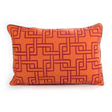 Links Indoor/Outdoor Pillow - Coral