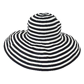 Black & White Sun Hat