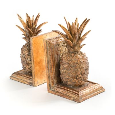 Pineapple Bookends - Set of 2