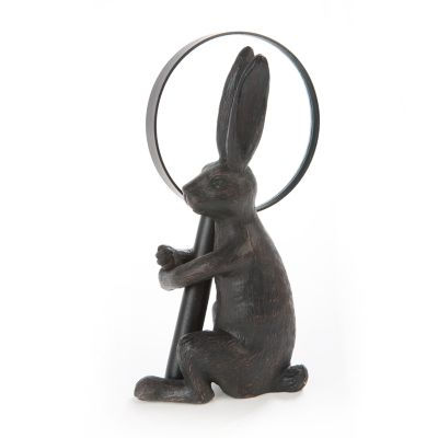 Magnifying Glass with Rabbit Stand