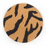 Rattan Coasters - Tiger - Set of 4