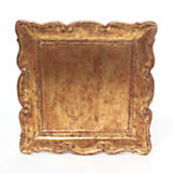 Gold Leaf Square Tray