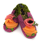 Apricot Parfait Slippers - Large