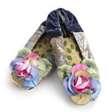 Pastel Kaleidoscope Slippers - Large