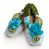 Ice Blue Slippers - Medium