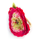Ranunculus Napkin Ring - Red