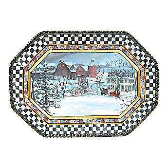 MacLachlan Winter Serving Platter