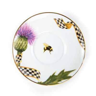 Thistle & Bee Saucer