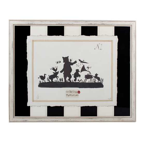 Musical Animals Print with Stripe Mat - Plate 2
