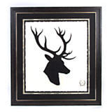 Stag Head Print - Plate 1