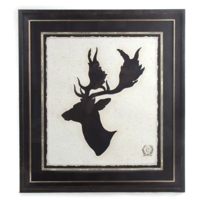 Stag Head Print - Plate 2