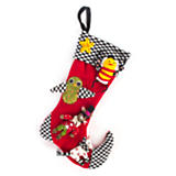 Child's Knit Stocking - Red